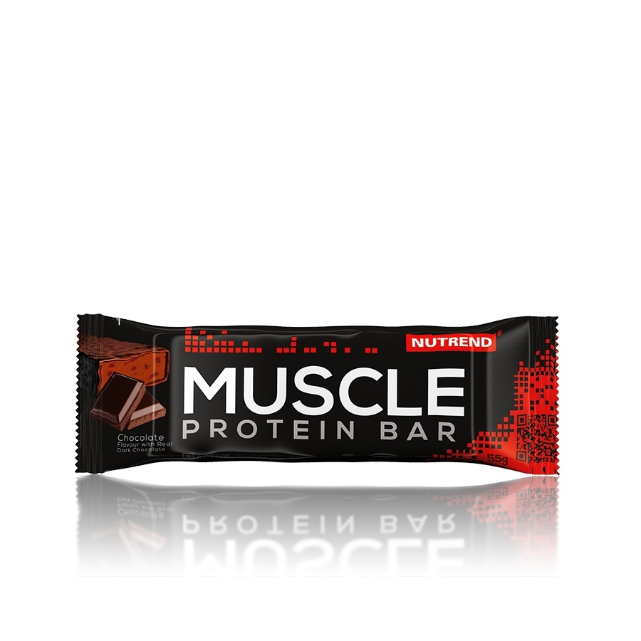 Nutrend Muscle protein bar jahoda