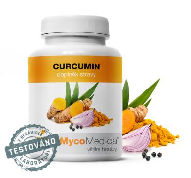 Mycomedica Curcumin - 120 kapslí