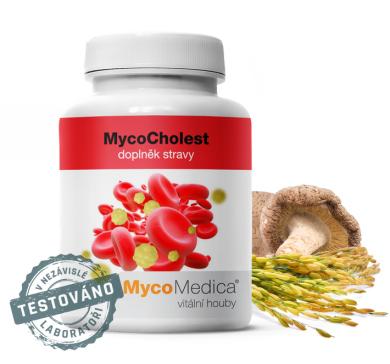 MycoMedica MycoCholest - 120 kapslí