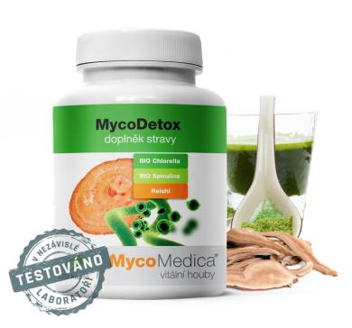 MycoMedica MycoDetox - 120 kapslí