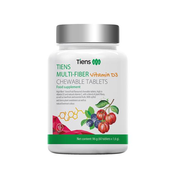 Tiens Multi-fiber žvýkací tablety s vlákninou 60 tablet